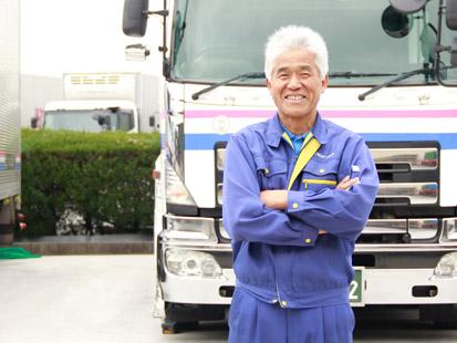 ベテランドライバーと言えば私!細かい気配りは一番ですドライバー坂田 一博 1997年入社